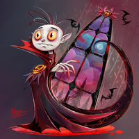 Young Nosferatu by StoicSquid