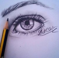 eye drawing by zucoraOfficial