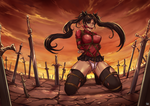 My Commission: Rin Tohsaka by gh0st-of-Ronin
