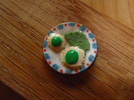 Green Eggs and Ham by sonickingscrewdriver