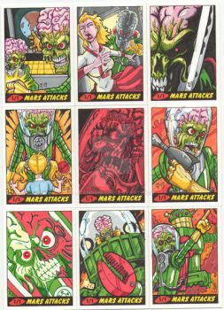 TOPPS MARS ATTACKS by JUANPUIS