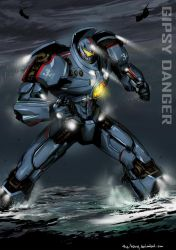 Gipsy Danger by the-hary
