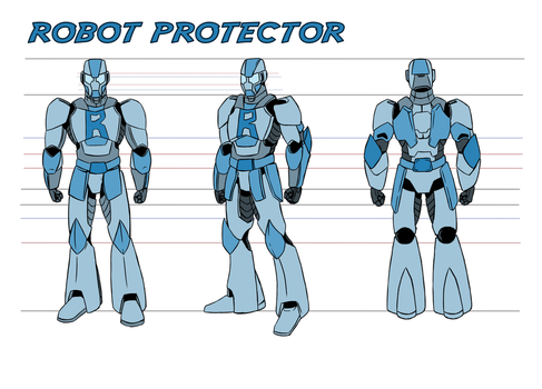 Robot Protector by Spikeprime