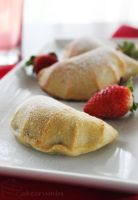 Strawberry and Nutella Mini-Calzones by cakecrumbs