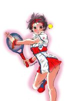 sport-Tennis player#3- by La-h-i-n-a-y-u-m-e