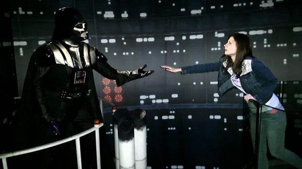 Madame Tussaud's: Darth Vader and I by MissJulyFarraday