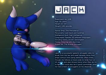 Commission: Experiment 108 - Jack by Marzzel