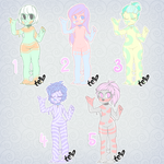 { 8 } SLIME BABES 2/5 OPEN (PRICE REDUCED) by teaesthetic