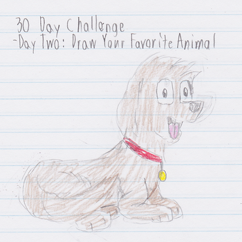 30 Day Challenge- Day Two by StrongBrush1