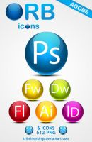ORB icons Adobe by KillboxGraphics