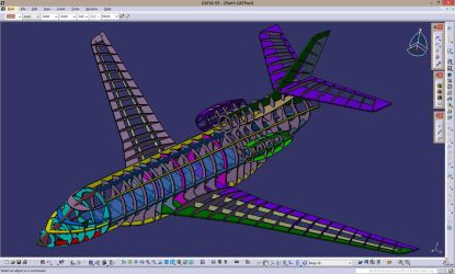 Falcon 7x designing process... by car2ner