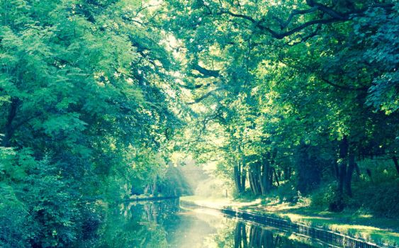 Llangollen Canal - 4 by Love-Is-All-Around-U