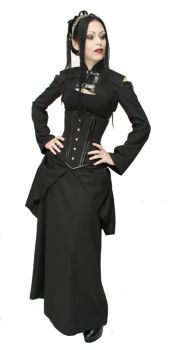 Neo Victorian outfit by azdaja