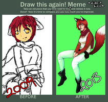 Draw This Again! Meme by chiiioh