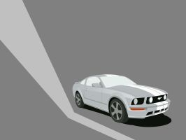 2005 Mustang GT Vector by bhazard