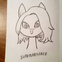 supermaryface by SweetStrokesStudios