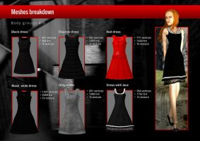 Little Thing - Body Groups - Dresses by vehtam