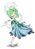 Sailor Princess - Neptune - Revisited by Ebsie