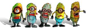 Zombie Minions by BYRONvonREMPEL