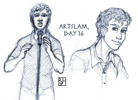 Artslam: Muse Day 16 by KabochaN
