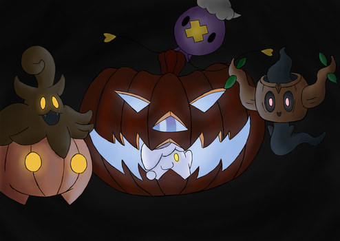 Happy Halloween! by mnms94
