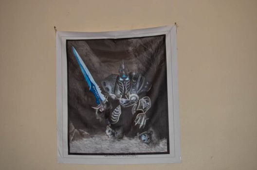 Arthas - canvas by Angband