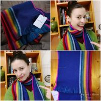 13th Doctor cosplay S11 - The rainbow scarf by ArwendeLuhtiene