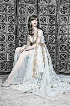 Princess Collection, Gold by alysa-couture