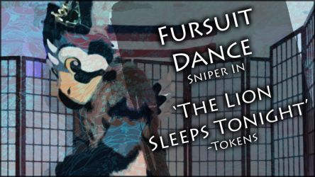 Fursuit Dance - Sniper in 'The Lion Sleeps Tonight by TwilightSaint