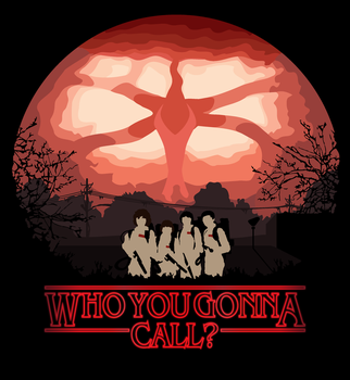 Stranger Things - Who you gonna call? by MarkusSaints
