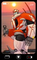 Ratchet The Hatchet On Vacation by Lumen-Terra