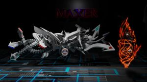 MAXER GRAFFITI BY ANH PHAM by anhpham88