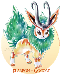 [Adopt] Gogoat X Flareon [closed] by Seoxys6