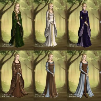 Eowyn's Wardrobe in The Two Towers by LadyAquanine73551