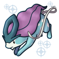 Chibi Suicune by Kimi133