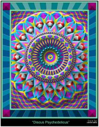 Discus Psychedelicus by EricTonArts