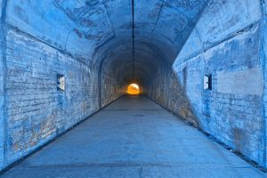 Tunnel of Redemption by somadjinn