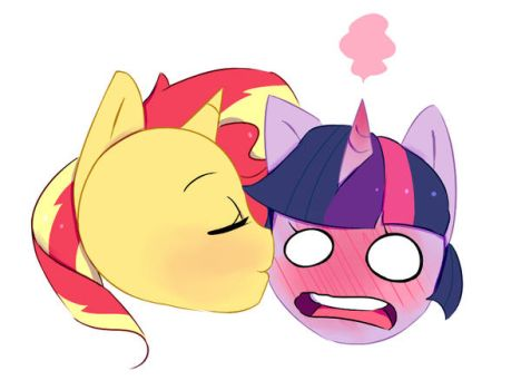 Surprise Kiss by 0ndshok