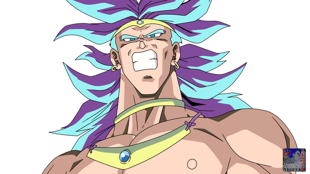Broly .:Lineart41:. Color by PrinzVegeta