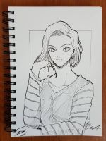 Day 193 Android 18 by TomatoStyles