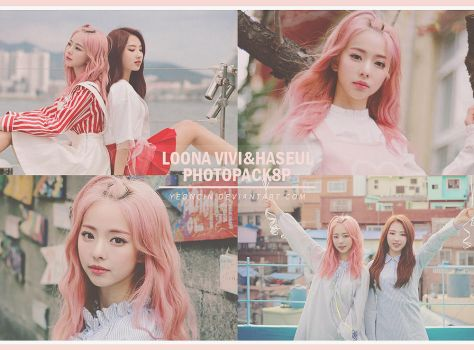 LOONA [ViVi] photopack8P by YEONCIN by yeoncin