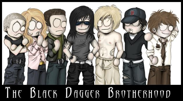 Chibi Black Dagger Brotherhood by mayMANIAC