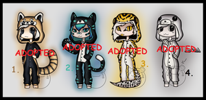 Offer to Adopt: Onesies 2 (CLOSED) by Adopt-From-Frog