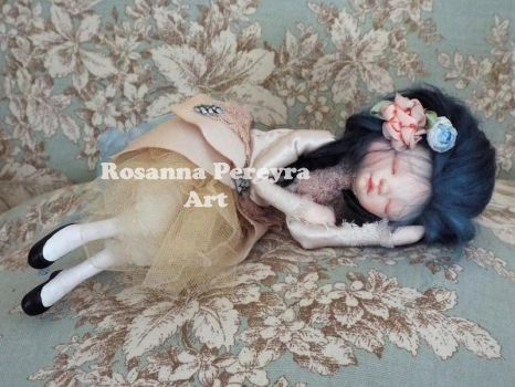 Sleeping Princess Sophie by rosannasart