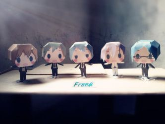 Free! Papercraft by AsamiChain17