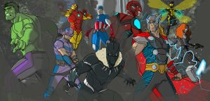 Avengers Request by wallaswells1
