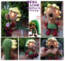 Large Deku Link Plush by scilk