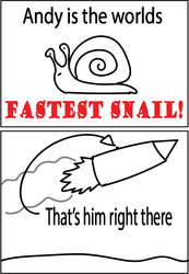 Andy the snail by CronoLoch