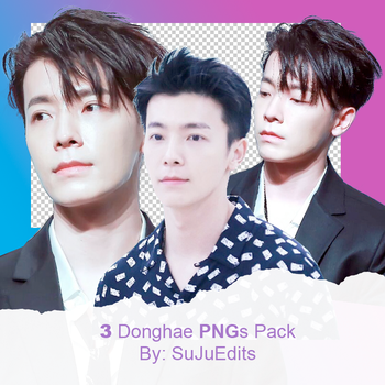 Donghae (Super Junior) Png Pack #2 by SuJuEdits