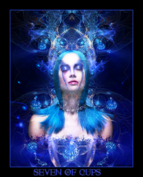 Tarot-Seven of Cups by wintersmagic